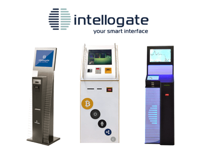 Intellogate cryptocurrency ATM machine producer