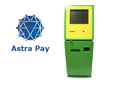 Astra Pay cryptocurrency ATM machine producer