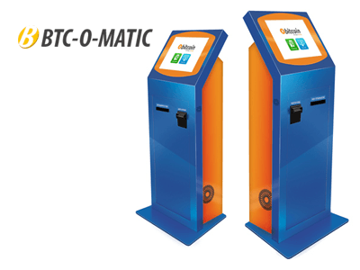 BTC-O-MATIC bitcoin ATM machine producer