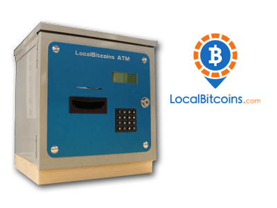LocalBitcoins cryptocurrency ATM machine producer