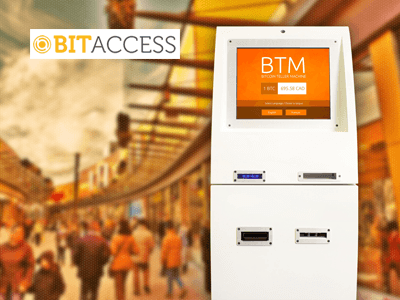 BitAccess bitcoin ATM machine producer