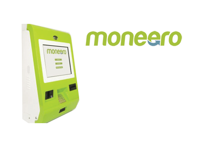 Moneero bitcoin ATM machine producer