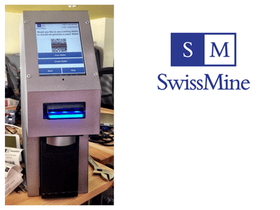 SwissMine bitcoin ATM machine producer