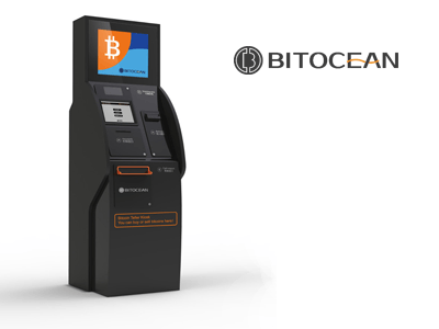 BitOcean cryptocurrency ATM machine producer