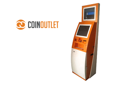CoinOutlet cryptocurrency ATM machine producer