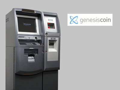 Genesis Coin cryptocurrency ATM machine producer