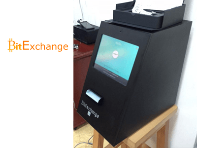 BitExchange cryptocurrency ATM machine producer