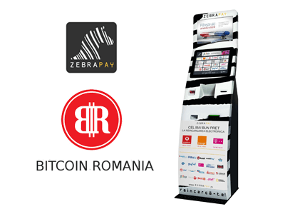 Bitcoin Romania and Zebrapay bitcoin/cash service provider