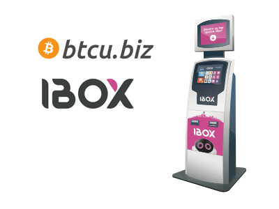 iBox cryptocurrency/cash exchange service provider
