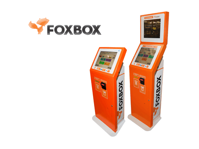 FoxBox cryptocurrency/cash exchange service provider