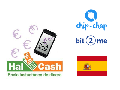 Spain HalCash cryptocurrency/cash exchange service provider