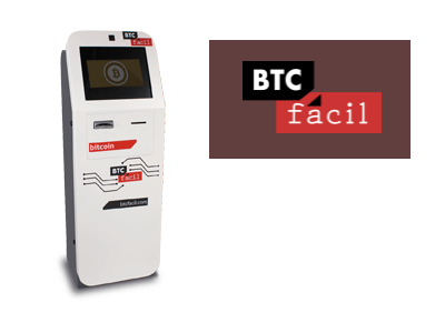 BTC facil bitcoin ATM machine producer