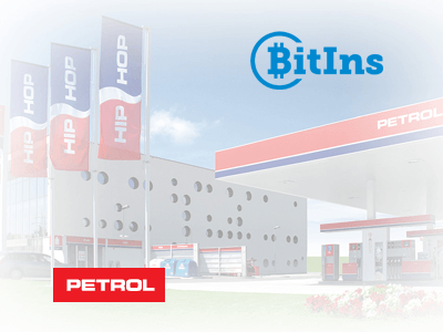 BitIns and Petrol cryptocurrency/cash exchange service provider