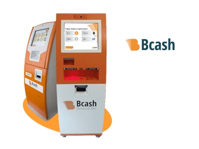 Bcash Greece Inc bitcoin ATM machine producer