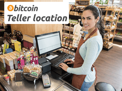 Bitcoin Teller cryptocurrency/cash exchange service provider