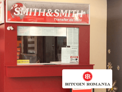 Bitcoin Romania and Smith&Smith cryptocurrency/cash exchange service provider