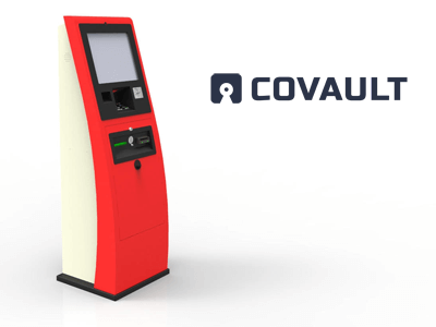 Covault cryptocurrency ATM machine producer