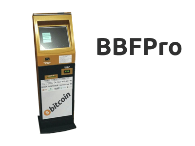 BBFPro cryptocurrency ATM machine producer