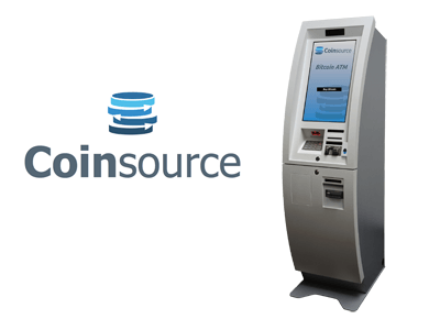 Coinsource bitcoin ATM machine producer