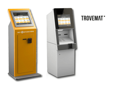 Trovemat cryptocurrency ATM machine producer