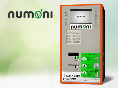 Numoni bitcoin ATM machine producer