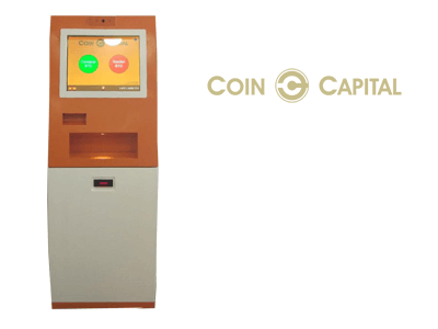 Coin Capital cryptocurrency ATM machine producer